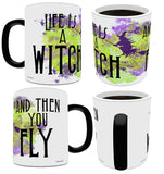 Halloween (Life is a Witch) Morphing Mugs™ Heat-Sensitive Mug