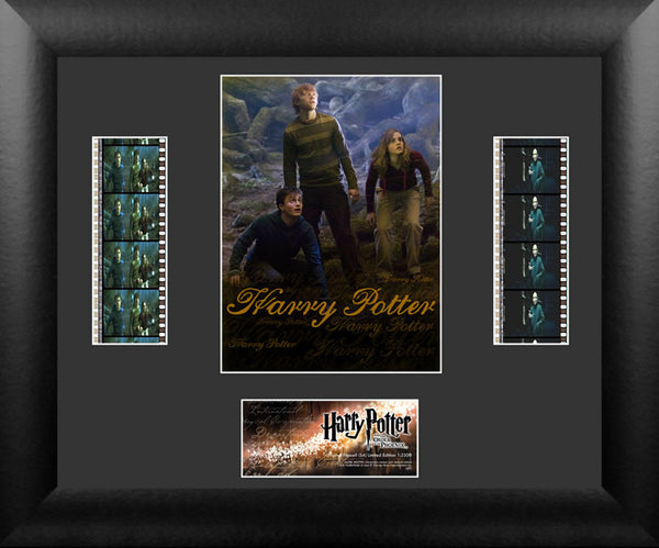 Harry Potter Order of Phoenix S4 Double 13 X 11 Film Cell Numbered Limited Edition COA