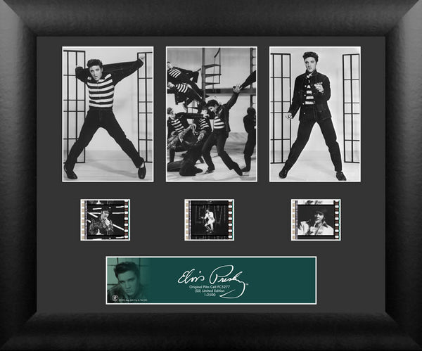 Elvis Presley 3 Cell Std 13 X 11 Film Cell Numbered Limited Edition COA