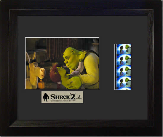 Shrek 2 13 X 11 Film Cell Limited Edition COA