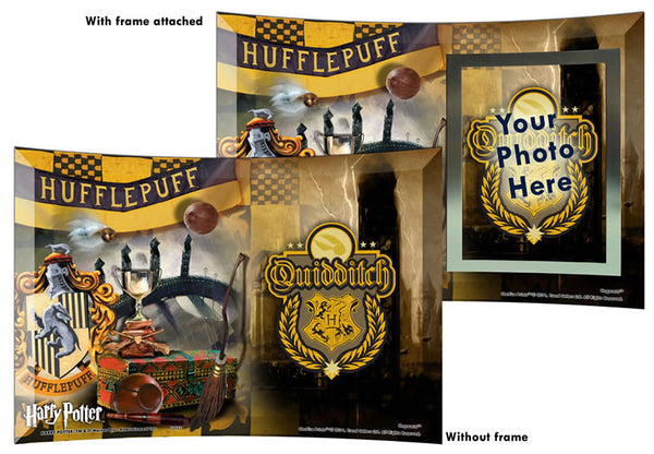 Harry Potter™ (Quidditch™ Hufflepuff™) StarFire Prints™ Curved Glass