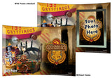 Harry Potter™ (Quidditch™ Gryffindor™) StarFire Prints™ Curved Glass