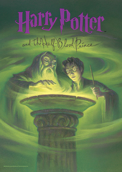 Harry Potter™ (Book Cover - Half-Blood Prince) MightyPrint™ Wall Art