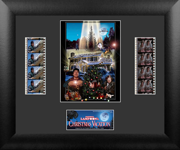 National Lampoons Christmas Vacation Film Cell Numbered Limited Edition COA