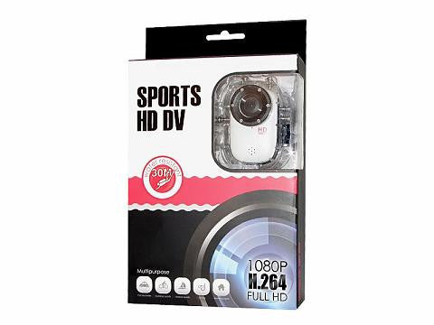 Hi-Def Waterproof Helmet Head Sport Camera USB Rechargeable Recorder