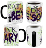 Halloween (Eat Drink Be Scary) Morphing Mugs™ Heat-Sensitive Mug