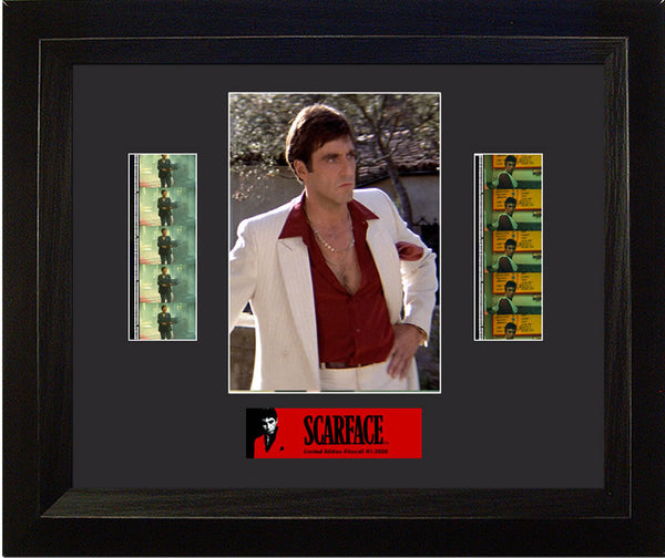 Scarface Double 13 X 11 Film Cell Limited Edition COA