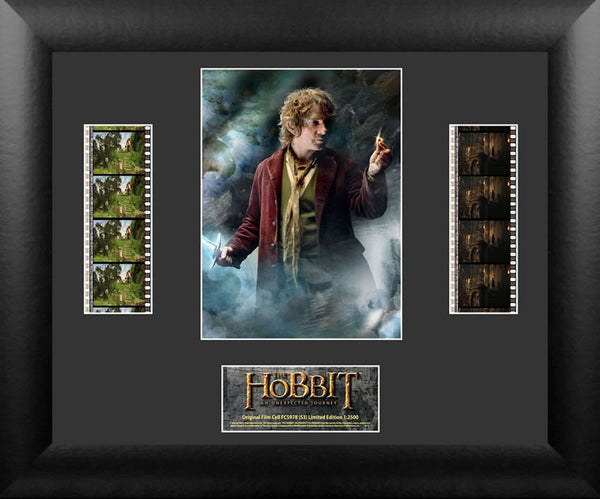 HOBBIT UNEXPECTED JOURNEY Double Film Cell Numbered Limited Edition COA