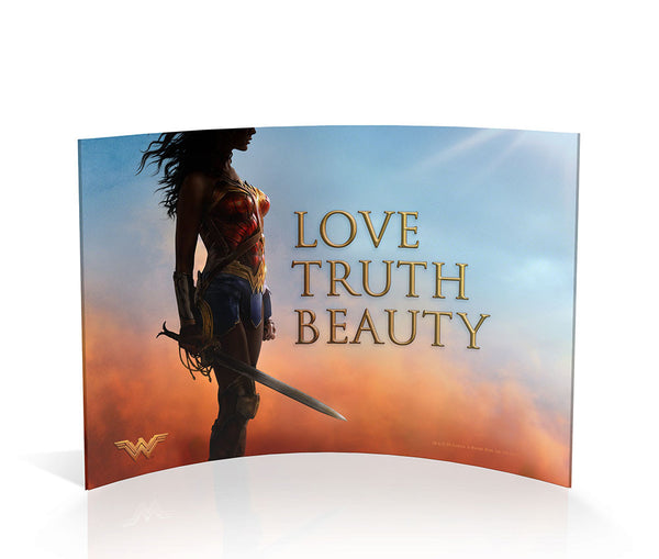Wonder Woman™ (Love Truth Beauty) Curved Acrylic Print