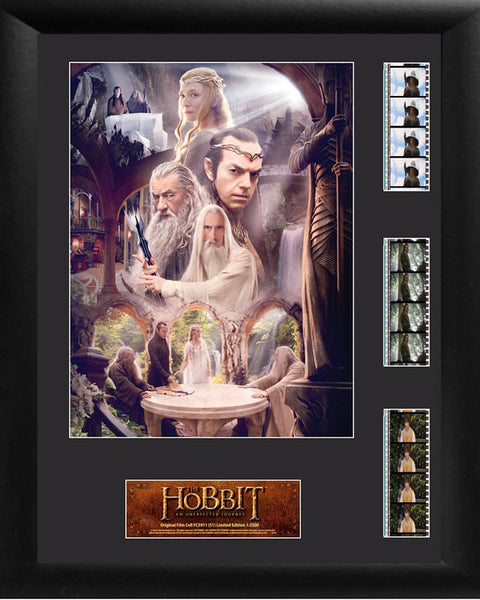 HOBBIT UNEXPECTED JOURNEY 18 X 14 Film Cell Numbered Limited Edition COA