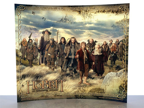 THE HOBBIT: AN UNEXPECTED JOURNEY (The Journey) StarFire Prints™ Curved Glass