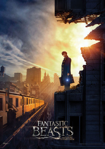 Fantastic Beasts and Where to Find Them™ (New York) MightyPrint™ Wall Art