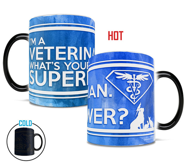 Superpower Veterinarian Morphing Mugs™ Heat-Sensitive Mug