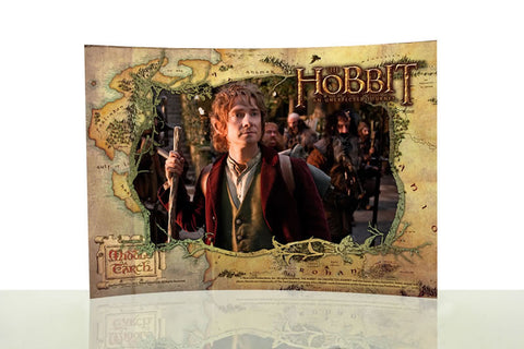 THE HOBBIT: AN UNEXPECTED JOURNEY (Bilbo) StarFire Prints™ Curved Glass SP0710CUR275