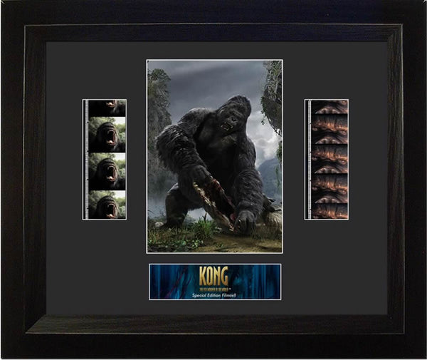 King Kong Double 13 X 11 Film Cell Limited Edition COA