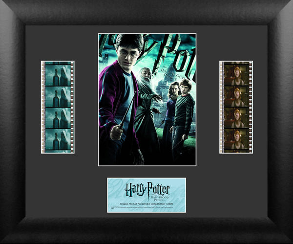 Harry Potter Half Blood Prince S3 Double 13 X 11 Film Cell Numbered Limited Edition COA