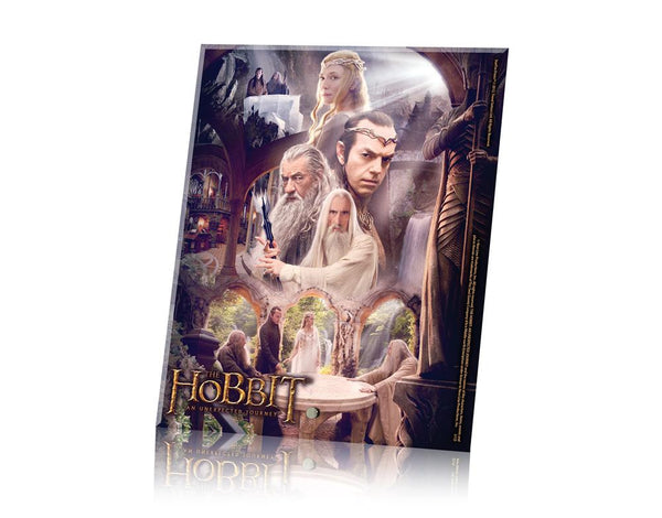 THE HOBBIT: AN UNEXPECTED JOURNEY (The White Council) StarFire Prints™ Glass