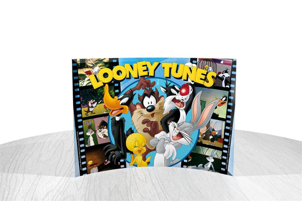 Looney Tunes™ (All Tunes) StarFire Prints™ Curved Glass