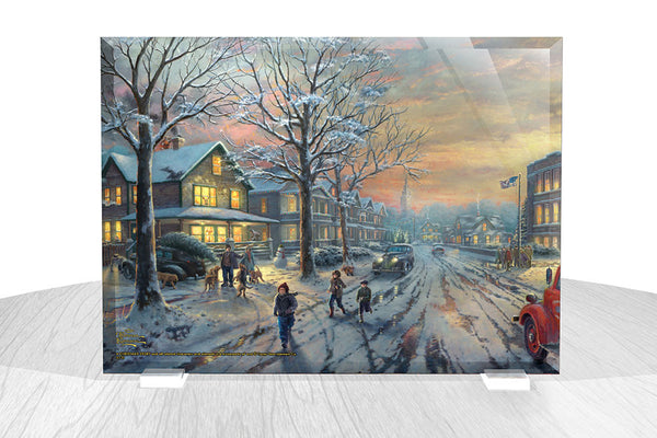 Thomas Kinkade Studios (A Christmas Story™) StarFire Prints™ Beveled Glass