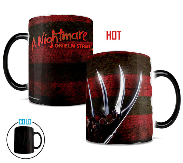 A Nightmare on Elm Street™ (Glove and Shirt) Morphing Mugs™ Heat-Sensitive Mug