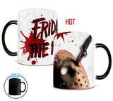 Friday the 13th™ (Blood Splatter) Morphing Mugs™ Heat-Sensitive Mug