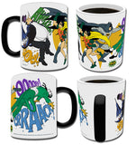 Batman Classic TV Series (Double Justice) Morphing Mugs™ Heat-Sensitive Mug