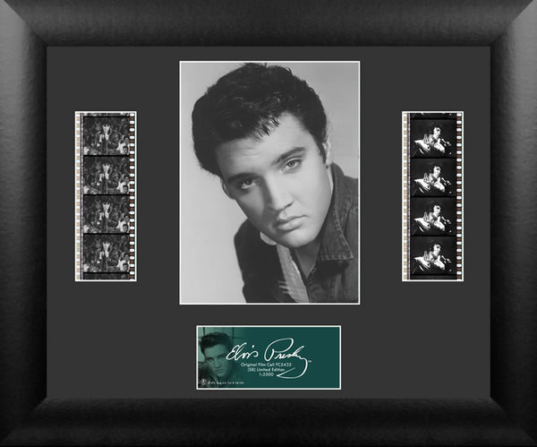Elvis Presley S8 Double 13 X 11 Film Cell Numbered Limited Edition COA