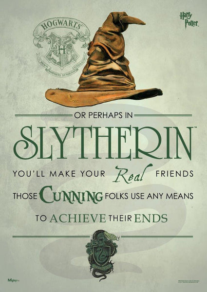 Harry Potter™ (Sorting Hat Slytherin) MightyPrint™ Wall Art