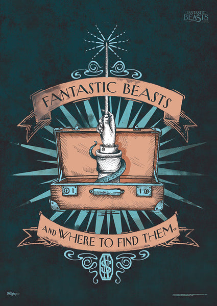 Fantastic Beasts and Where to Find Them™ (Fantastic Beasts) MightyPrint™ Wall Art
