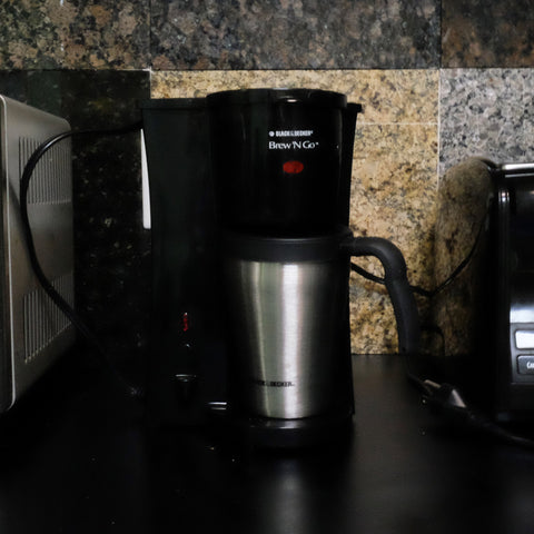 BUSH BABY WORKING COFFEE POT HIDDEN CAMERA 1080P MOTION DETECT - FREE 16GB MICROSD CARD!