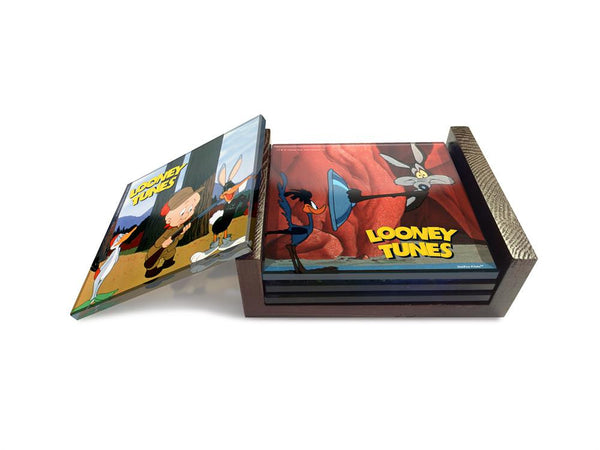 Looney Tunes™ (Classic Toons) StarFire Prints™ Glass Coaster Set