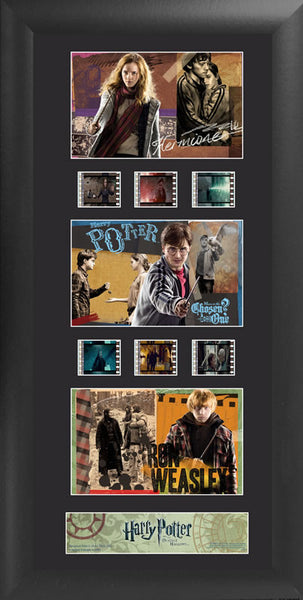 Harry Potter the Deathly Hallows S2 Trio 11 X 20 Film Cell Numbered Limited Edition COA
