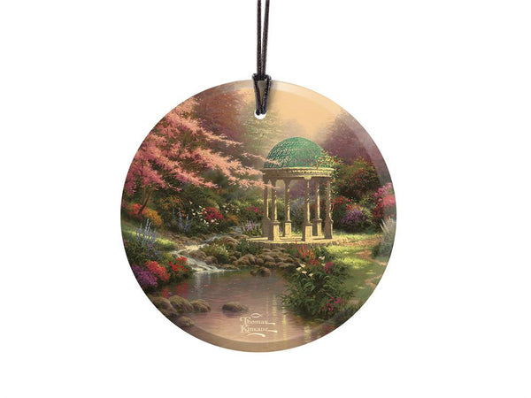 Thomas Kinkade (Pools of Serenity) StarFire Prints™ Hanging Glass