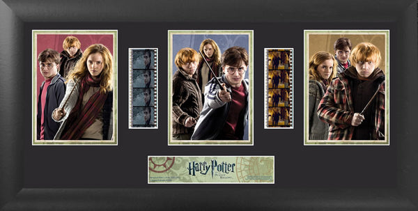 Harry Potter & the Deathly Hallows S1 Trio 20 X 1 Film Cell Numbered Limited Edition COA