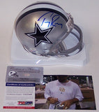 Tony Romo Autographed Hand Signed Cowboys Mini Helmet - PSA/DNA
