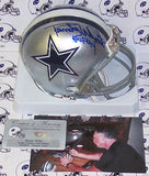Randy White Autographed Hand Signed Cowboys Mini Helmet