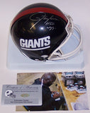 Lawrence Taylor Autographed Hand Signed Giants Mini Helmet - PSA/DNA