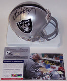 Bo Jackson Autographed Hand Signed Raiders Mini Helmet - PSA/DNA