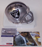 Howie Long Autographed Hand Signed Raiders Mini Helmet - PSA/DNA