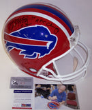 Jim Kelly Autographed Hand Signed Buffalo Bills Throwback Authentic Helmet - PSA/DNA