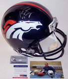 Peyton Manning Autographed Hand Signed Denver Broncos Full Size Authentic Helmet - PSA/DNA