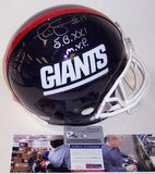 Ottis Anderson & Phil Simms Autographed Hand Signed New York Giants Throwback Authentic Full Size Helmet - PSA-DNA