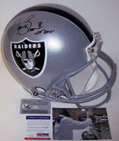Tim Brown Autographed Hand Signed Oakland Raiders Authentic Helmet - PSA/DNA