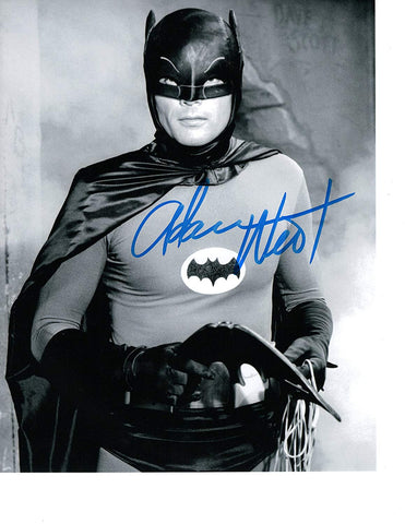 Signed Adam West Batman 8x10 Photo Autographed COA