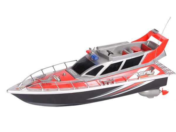 RC Patrol Boat (Red)