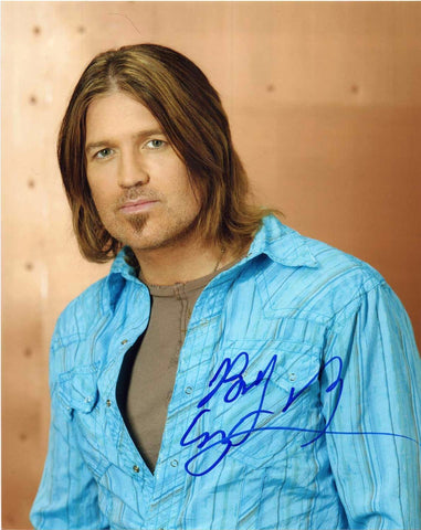 Autographed 8 X 10 Picture Billy Ray Cyrus Musician Songwriter Actor COA