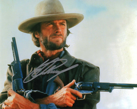 Autographed 8X10 Photograph Clint Eastwood Actor Filmmaker Hang em High COA