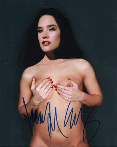 Jennifer Connelly - NUDE - Actress 8 X 10 Autographed Picture COA