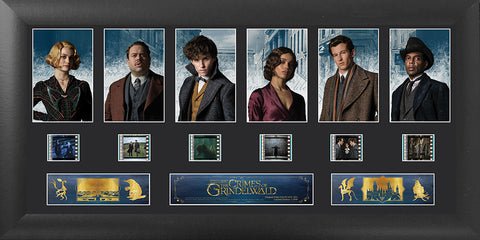 Fantastic Beasts The Crimes of Grindelwald 20 X 11 S1 Deluxe Filmcell Presentation USFC6376  20 X 11 Limited Edition COA