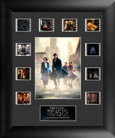 Fantastic Beasts S1 Mini Montage 11 X 13 Film Cell USFC6379 Numbered Limited Edition COA